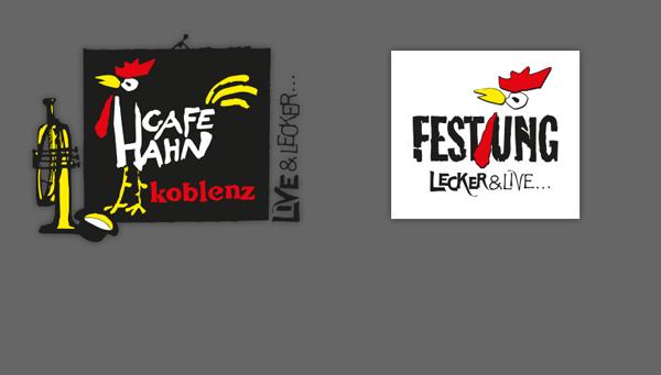 Cafe Hahn live und lecker in der Festung Ehrenbreitstein